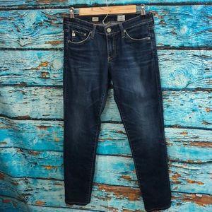 AG Stilt Cigarette Leg Jeans Sz 27